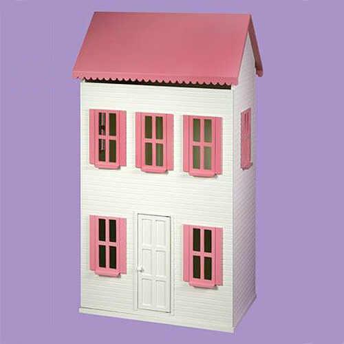 Barbie house building plans floor plans for Dollhouse building plans free