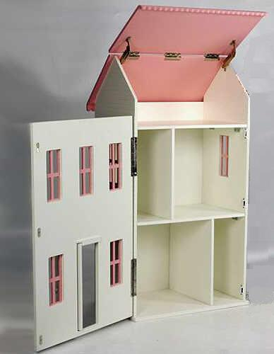 Barbie Dollhouse Plans - JoesPlans.com - Doll house and play house