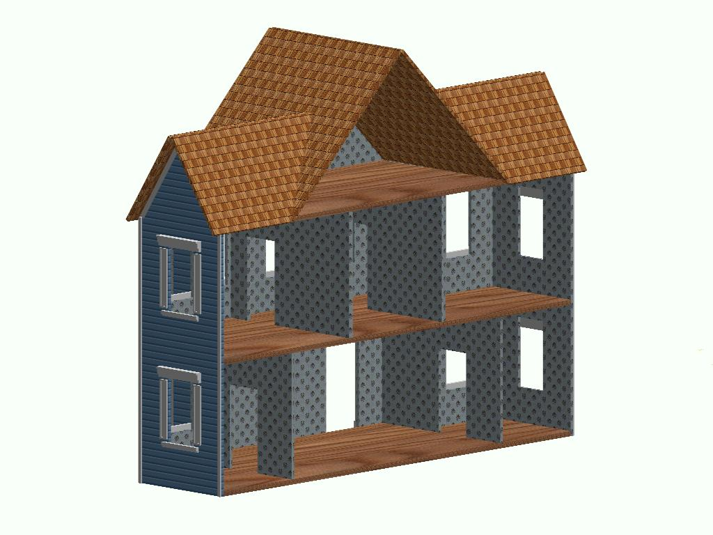 Victorian dollhouse plans Build a house online